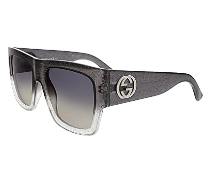 d7a3299298d Amazon.com  New Gucci Sunglasses Women GG 3817 Black RKQDX GG3817 S ...