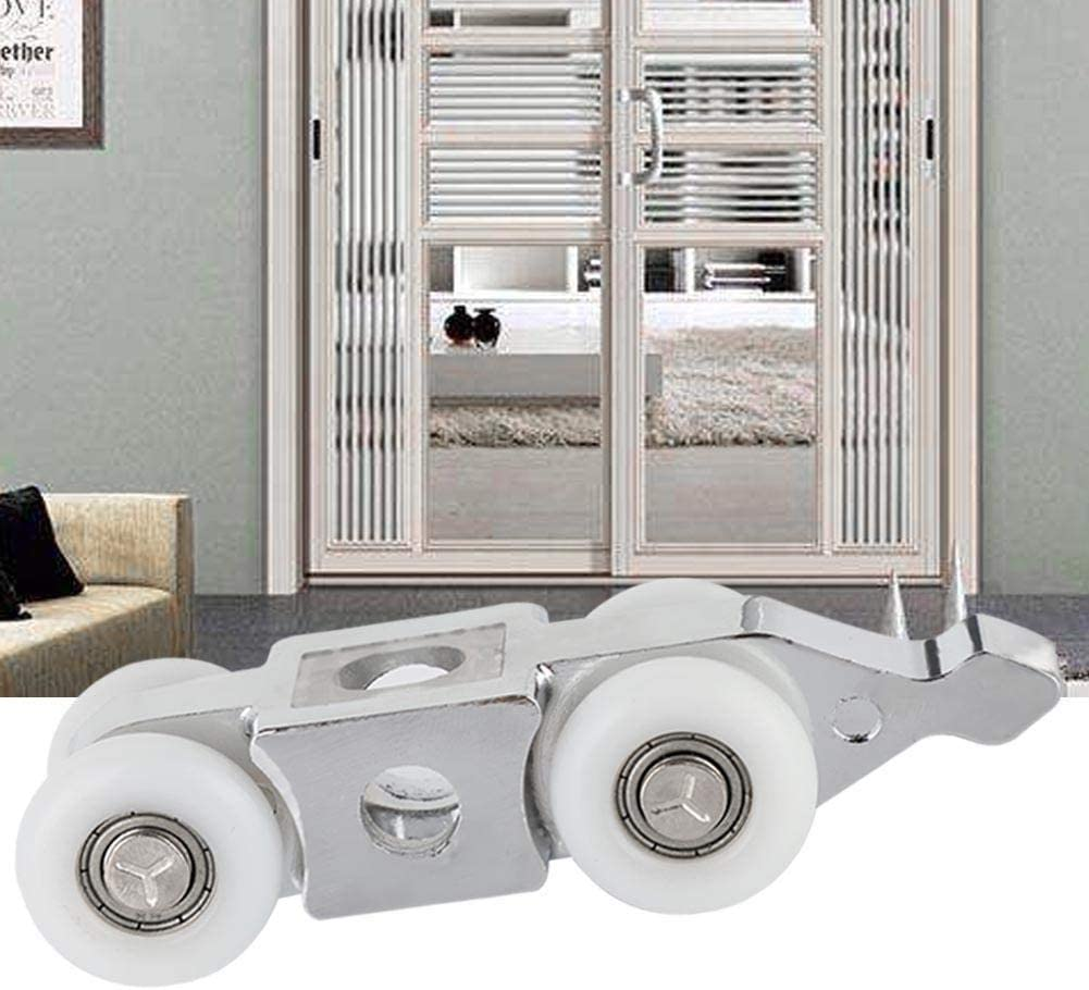 Rodillo for puerta corrediza - Rodillos for puerta corrediza de acero inoxidable Reemplazo de la puerta del armario Ruedas colgantes for rueda de herrajes: Amazon.es: Bricolaje y herramientas