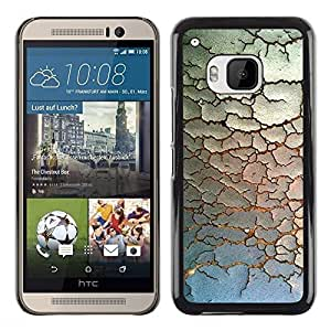 Design for Girls Plastic Cover Case FOR HTC One M9 Paint Rustic Pattern Minimalist OBBA