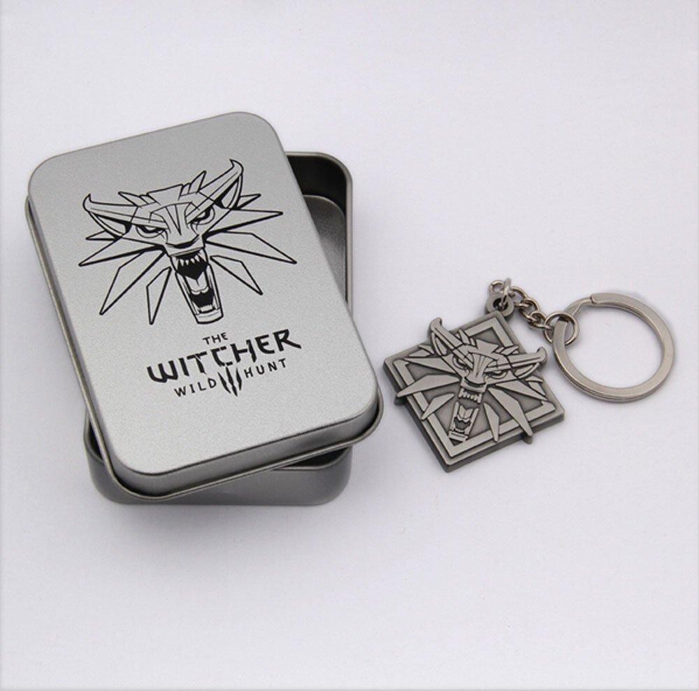 The Witcher 3 Medallion llavero: Amazon.es: Deportes y aire ...