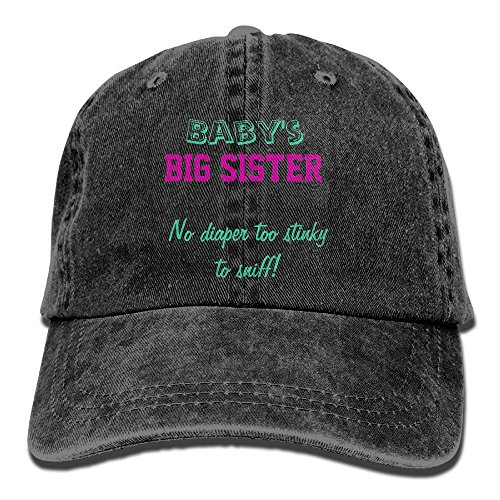 DA41SXK1 Cap Baby's Big Siste Retro Cap Baseball Hat Head-Wear Cotton Trucker Hats - Anaheim Center Shopping