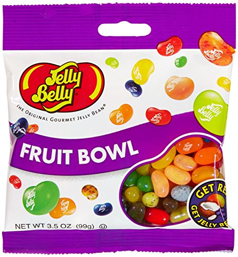 Jelly Belly Bean Factory (Jelly Belly Assorted Beans - Fruit Bowl - 3.5 oz. - 12 Pack)