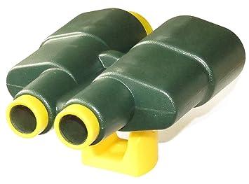 Gartenpirat fernglas kunststoff farbe grün gelb spielzeug für