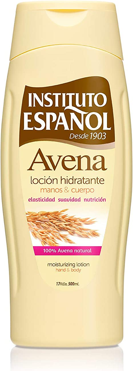 Instituto Español Avena Leche Hidratante - 500 ml: Amazon.es: Belleza