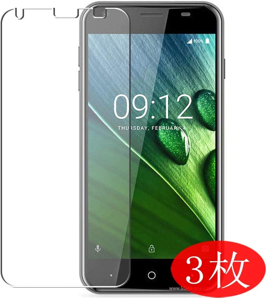 【3 Pack】 Synvy Screen Protector for Acer Liquid Z6 TPU Flexible HD Film Protective Protectors [Not Tempered Glass]