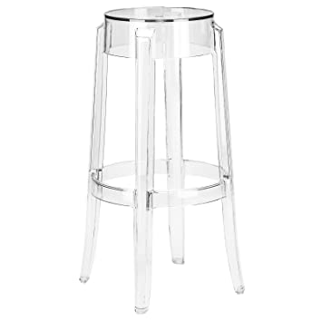 Cool Poly And Bark Burton Bar Stool In Clear Unemploymentrelief Wooden Chair Designs For Living Room Unemploymentrelieforg