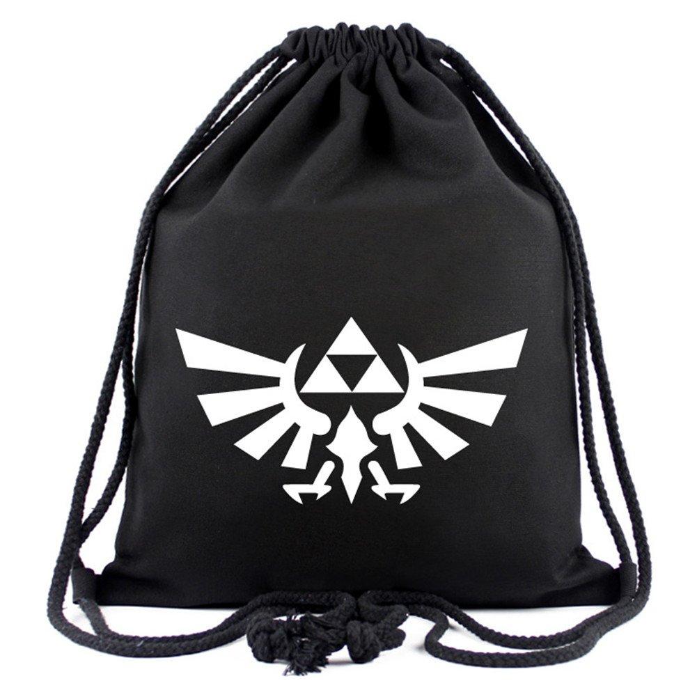Gumstyle The Legend of Zelda Anime Sackpack Drawstring Bags Gym Sack Sport Sack Backpack 1