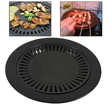 2x barbacoa Parrilla cocina pan Barbacoa cubierta exterior antiadherente asar las bandejas HNAA