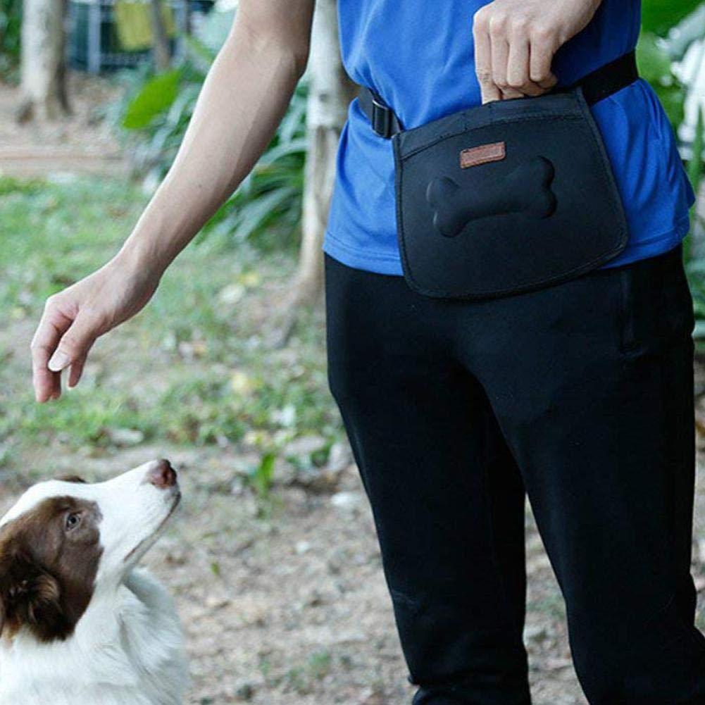 Best Design Pet Treat Pouch Dog Training Waist Bag Snacks Pockets with Adjustable, Dog Waist Bag - Dog Pouches, Dog Treat Pouch, Dog Training Treats, Drawstring Treat Bag, Dog Pouch, Bait Pouch Dog by Bechamel