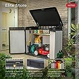 Keter Elite Store 4.6 x 2.7 Foot Resin Outdoor
