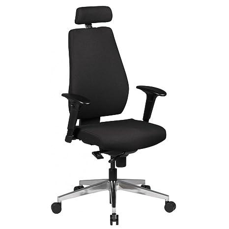 Bürostuhl schwarz Schreibtischstuhl Bürosessel Drehstuhl Chefsessel Büro modern