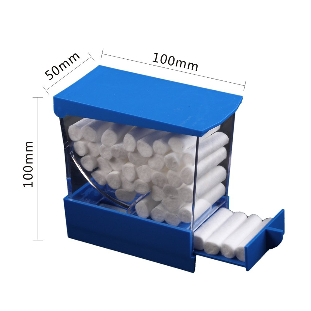 Easyinsmile Professional Cotton Roll Dispenser Holder Organizer Deluxe with Pull-out Tray by Easyinsmile