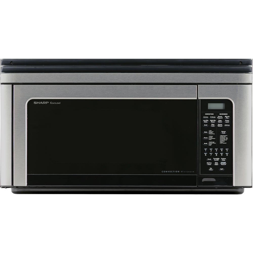 Sharp Carousel R-1881LSY Convection Microwave Oven – Single – 8.23 gal Capacity – Convection, Microwave, Baking, Roasting, Broiling – 11 Power Levels – 850 W Microwave Power – 13 Turntable – 120 V AC