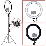 """Neewer® Camera Photo/Video 18""""Outer 14""""Inner 600W 5500K Dimmable Ring Fluorescent Flash Light (Light Only)"""
