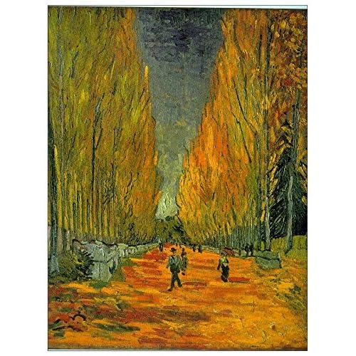 ArtPlaza Van Gogh Vincent - Alyscamps Panneau Décoratif, Bois, Multicolore, 60 x 1.8 x 80 cmAS90550
