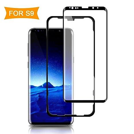 authentic quality 100% high quality low cost ACETEND S9 Verre Trempé, [ Positionneur] Samsung Galaxy S9 Protection  écran[Coque Compatible] Ultra Définition,Sans Bulles, Anti-Scratch, Découpe  3D ...