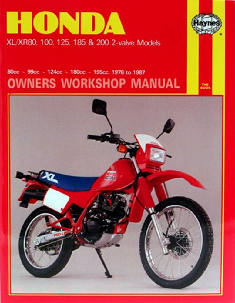 1981-1983 Honda XR200R Repair Manual Clymer M318-4 Service Shop Garage