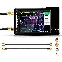 """SEAAN Mini analizador de Redes vectoriales, Pantalla de 2,8""""10 KHz -1,5 GHz HF VHF UHF Analizador de Antena S Parámetros…"""