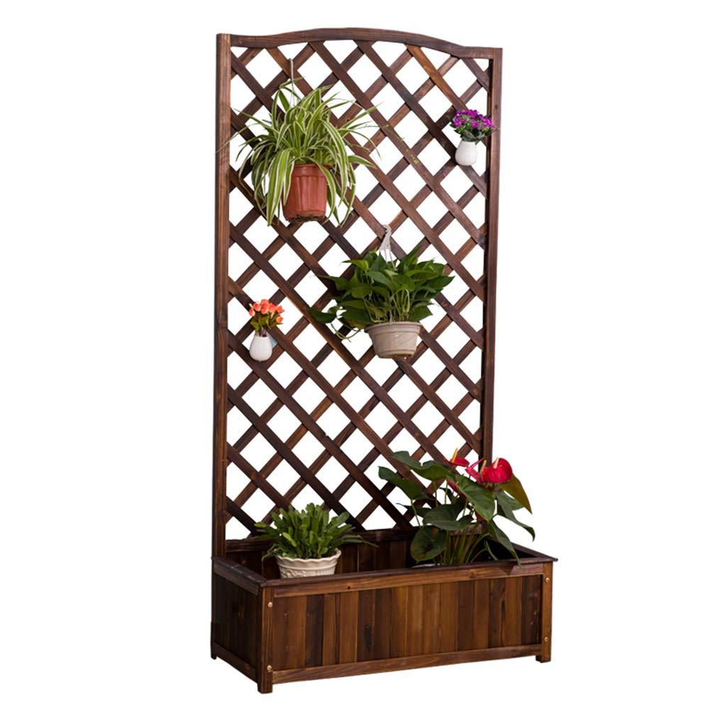 consegna gratuita Basamento di Fiore Fiore griglia Basamento di Legno Legno Legno Balcone Esterno Basamento della pianta Multifunzionale  colorways incredibili