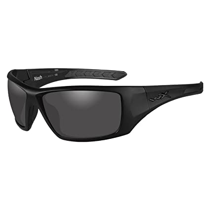 749f039661e Image Unavailable. Image not available for. Color  Wiley X Nash Plrzd SMK  Gry Matte Blk