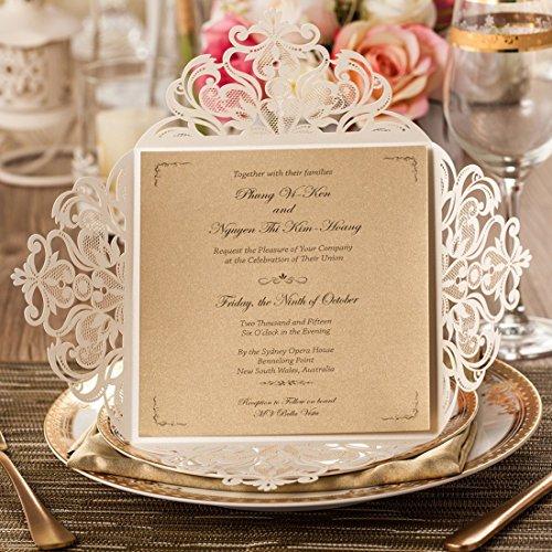 The 8 best laser cut wedding invitations