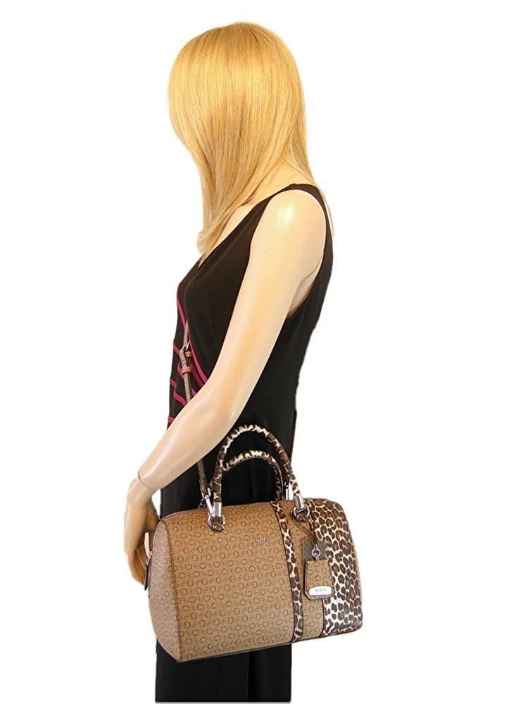 New Guess G Logo Purse Satchel Cross Body Hand Bag Brown Mocha Tan Swim Tote   Amazon.ca  Shoes   Handbags 494e141690a2f