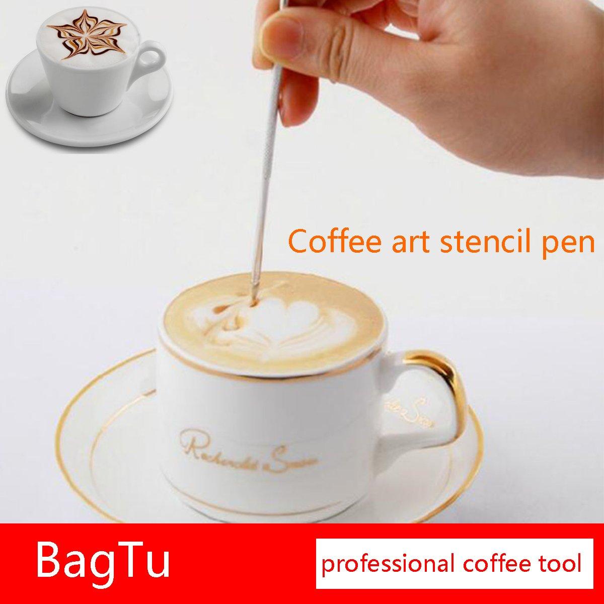 BagTu Café Cepillo de limpieza herramienta Set para café expreso máquina Group Head, negro, pack de 3: Amazon.es: Hogar