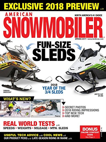 [American Snowmobiler] (New Snowmobile Sled)
