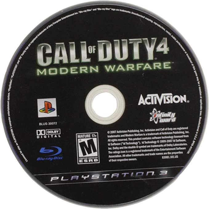 Activision Call of Duty 4: Modern Warfare - Greatest Hits Edition ...