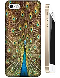 Peacock Peafowl Spead Tail Feathers Bird Beautiful cell phone cases for Apple Accessories iPhone 5/5S by lolosakes
