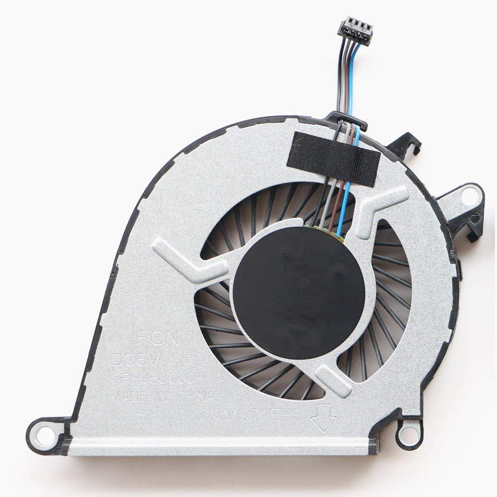 Replacement for HP OMEN 15-AX 15-AX023TX 15-AX030TX 15-AX033DX 15-AX020TX 15-AX219TX 15-AX016TX 15-AX215TX TPN-Q173 CPU Cooling Fan 858970-001