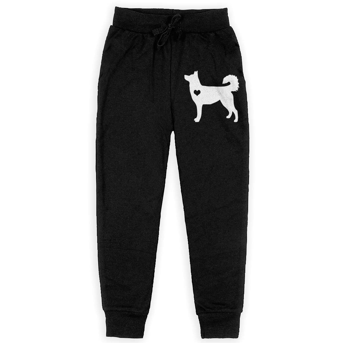 Husky Heart Soft//Cozy Sweatpants Girls Active Basic Jogger Fleece Pants for Teen Boy