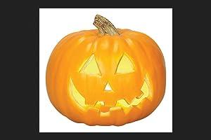 "Gemmy 26266 Jack-o-lantern Halloween Decoration, 8.27"" W X 8.86"" L"