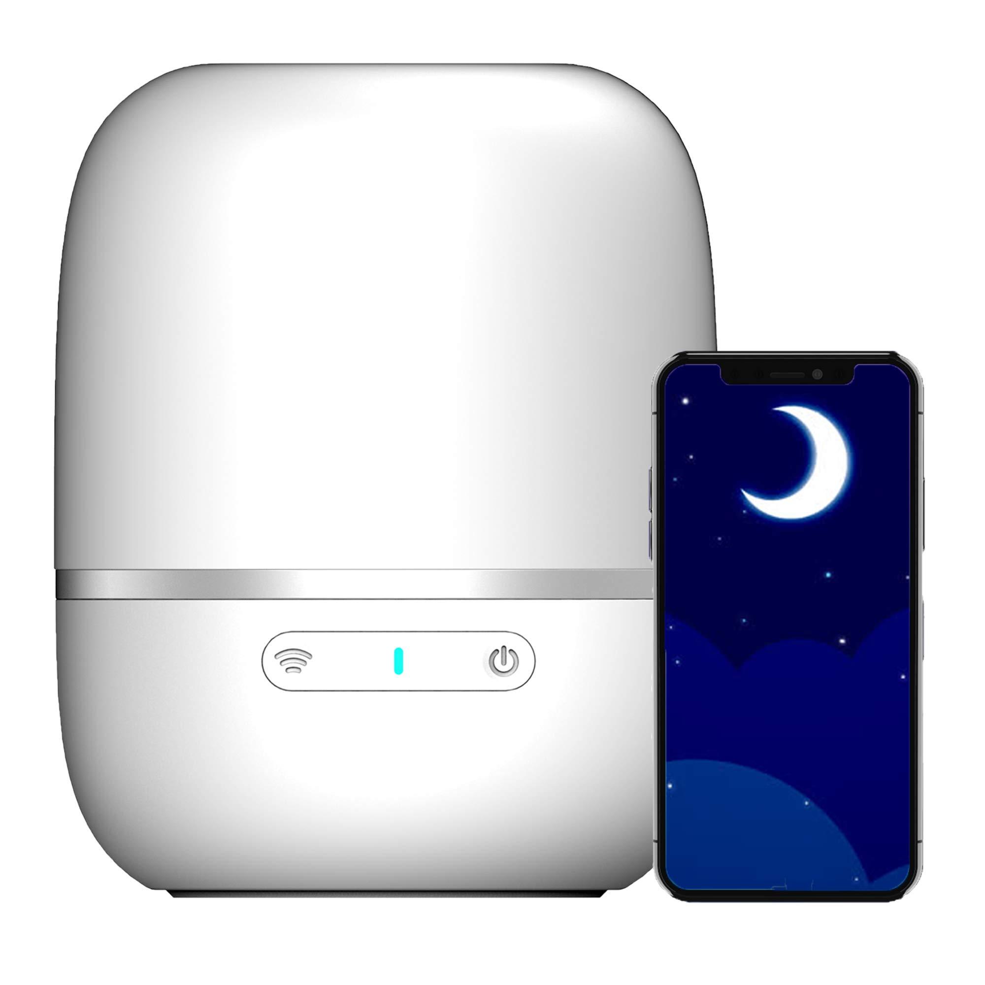 eFamily Smart Night Light for Kids, Adjustable Brightness & Soft Color, Dimmable Bulb, Multi Scene Changing, Mood Enhancing, Touch Control, Timer Setting, for Bedside Bedroom Toddler