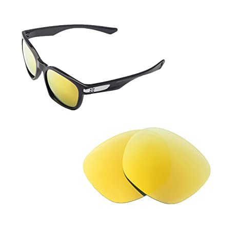 2cc4e78075 Walleva Replacement Lenses for Oakley Garage Rock Sunglasses - 6 Options  Available (24K Gold-