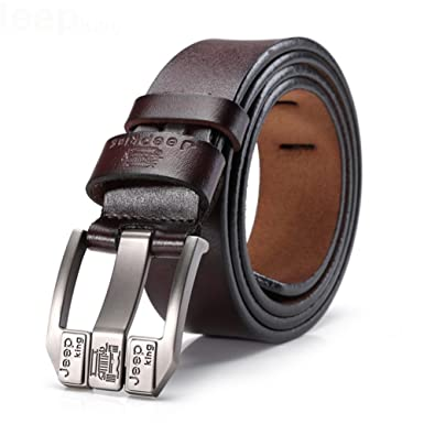 2a760ebace0 Tekon New Business Men Split Ceinture en Cuir Ceinture 1