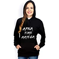 Crazy Prints Cotton Sweatshirt for Women Apna time Ayega