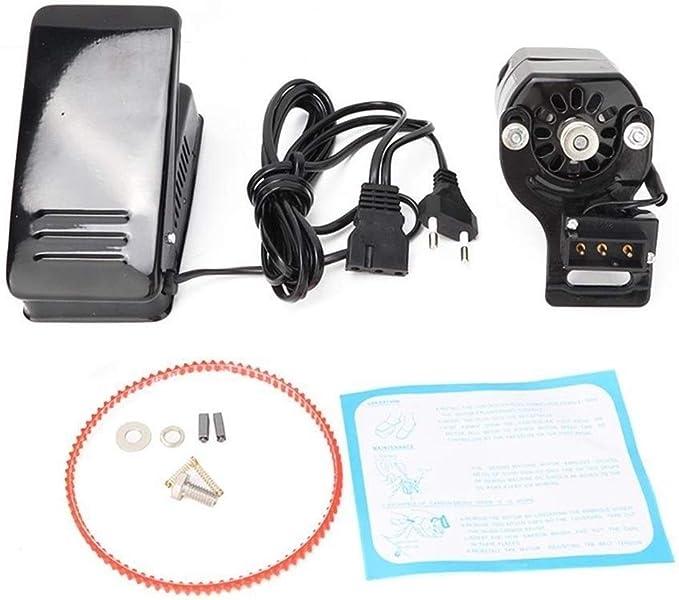 QIAO-RIHZKEJI Kit De Motor Y Pedal Universal para Máquina De Coser ...