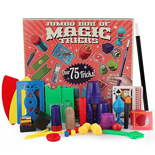 Magic Set for Kids Magic Tricks Toys for Children DVD Kit R ()