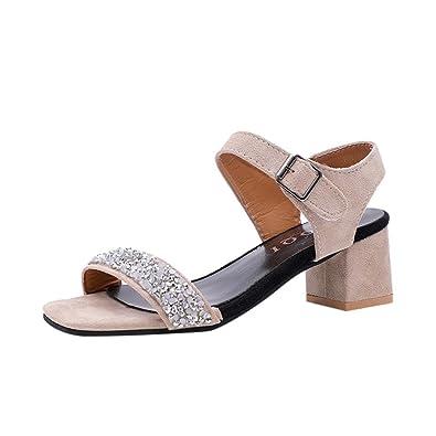 À FemmeAmazon D'été Luckycat De Été Chaussures Sandales c54RqA3jL