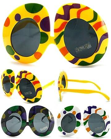 322c2d744219 Amazon.com   12 Pair ( 1 Dozen ) Bulk LOT Colored Easter Eggs Novelty  Birthday Party Glasses - Costume Dressup Sunglasses for Men or Women   Everything  Else