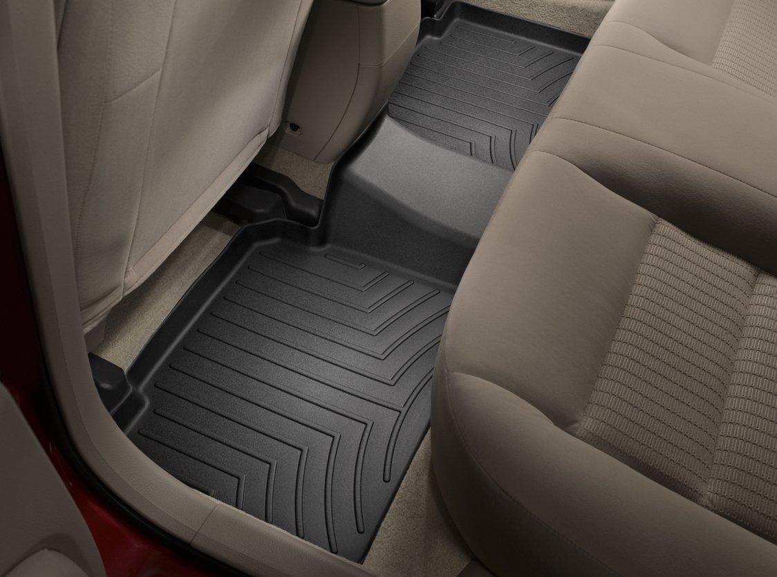 Weathertech mats for 2013 toyota highlander - Amazon Com Weathertech Custom Fit Rear Floorliner For Toyota Highlander Black Automotive
