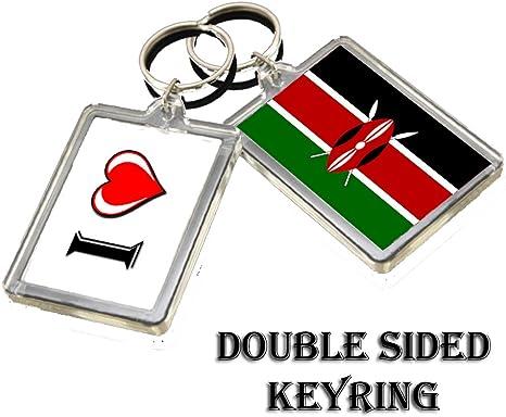 Kenya Keychain//Kenya Flag// Keychain