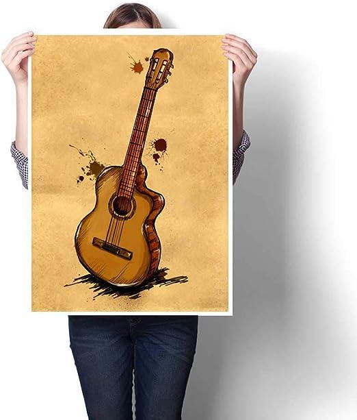 cordiall - Pintura para Guitarra, diseño de Fondo de sofá, 20 x ...