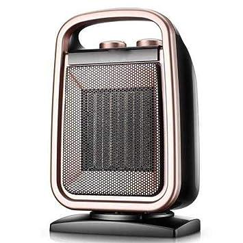 DW&HX Portátil Cerámica Calentador con termostato Ajustable, Electrico Protección contra el sobrecalentamiento Silencioso Calentador de