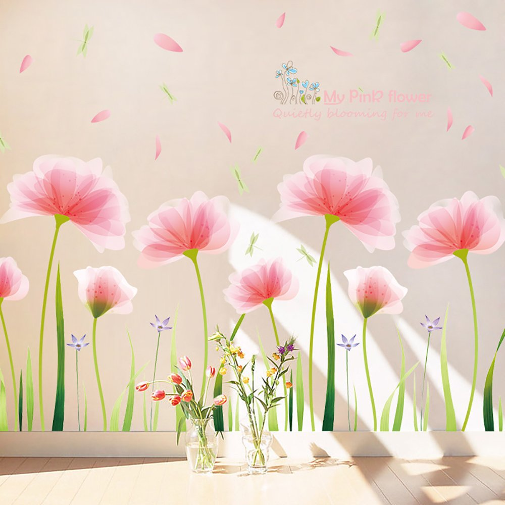 Kaimao Colorful Creative Dream Catcher Feathers Wall Stickers Art Decal Murals Removable Wallpapers for Home Decoration