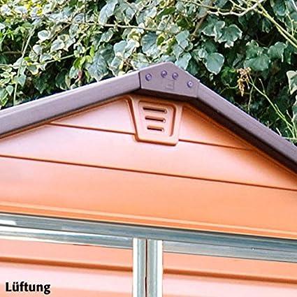 Skylight Jardín Cobertizo 6 x 12 marrón, incluye suelo: Amazon.es: Jardín