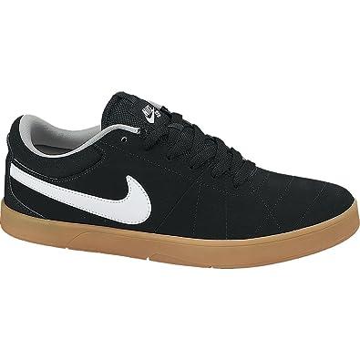 Nike Sb Zapatos Rabona Skate - Negro Y Blanco Janoski Goma
