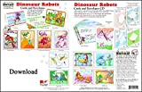 ScrapSMART - Dinosaur Robots Cards & Envelopes: Software Collection - Microsoft Word, Jpeg, PDF files for Mac [Download]