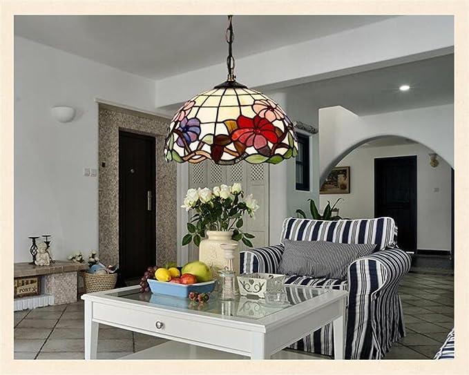 Lampadari E Plafoniere Tiffany : Tiffany neoclassico idilliaco guscio naturale ciondolo lampadario